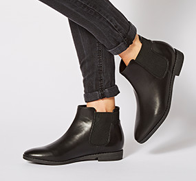 ankle fitting boots