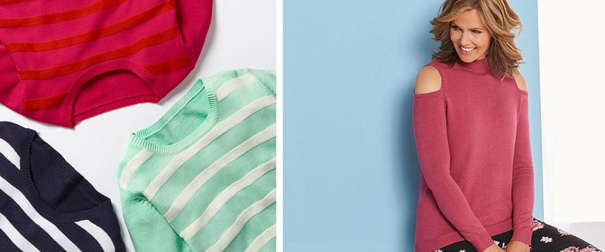 Knitwear from £16