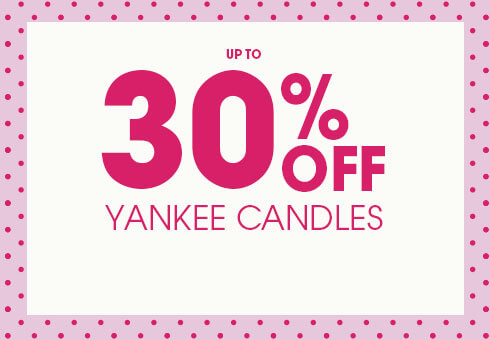 30% Off Yankee Candles