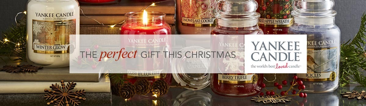 The perfect gift this Christmas - Yankee Candle