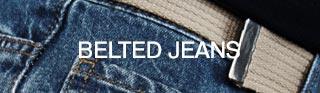 Shop Belted Jeans