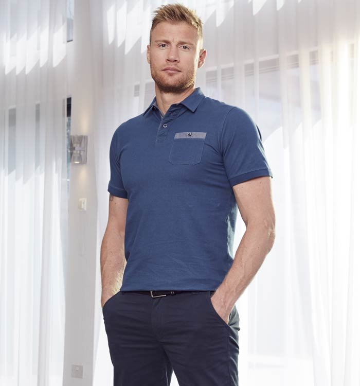 Freddie Flintoff Polo Shirt