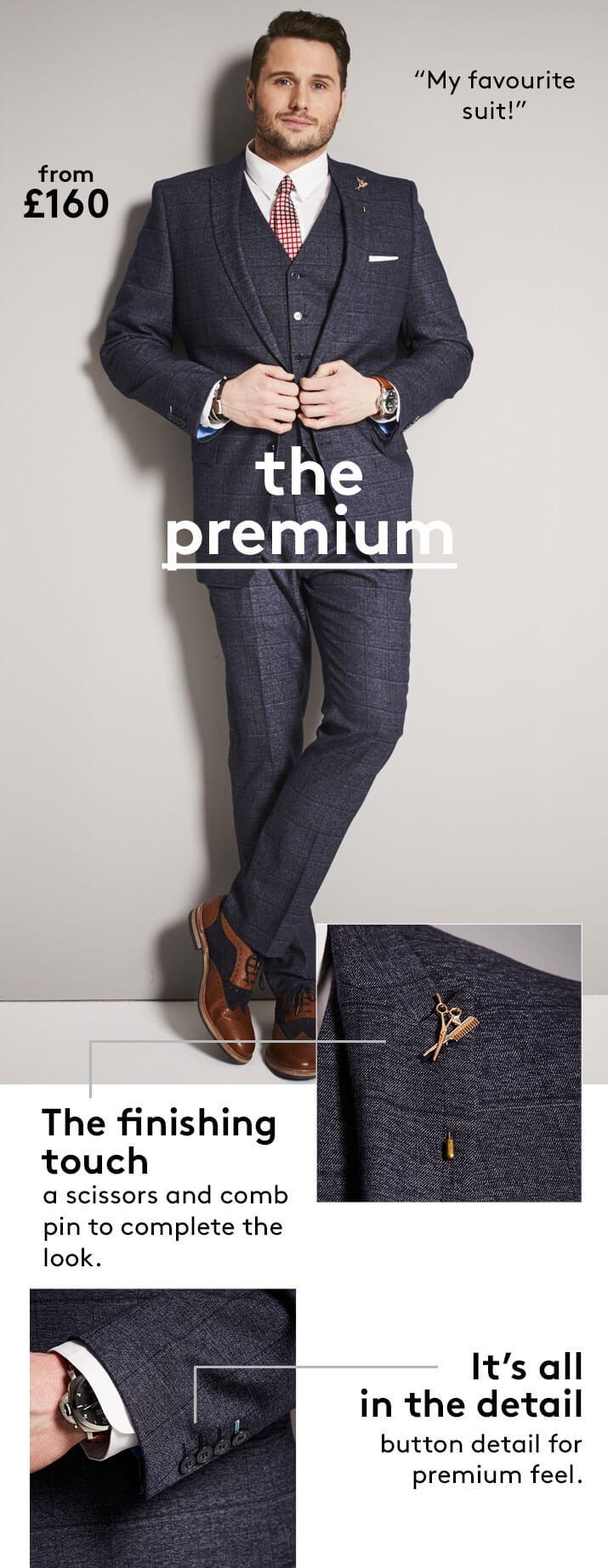 The Premium suit