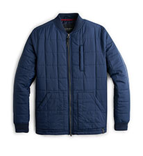 Shop Blue Padded Jacket