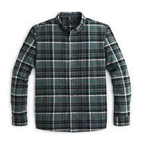 Green Grey Check Shirt