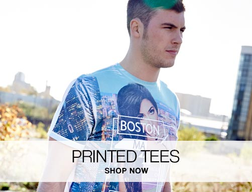 Printed Tees – Shop Now »