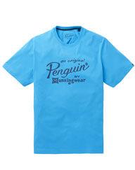 Penguin Script Logo T-Shirt
