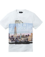 Label J NYC Print Tee