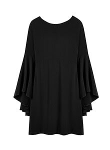 Swing Sleeve Dress