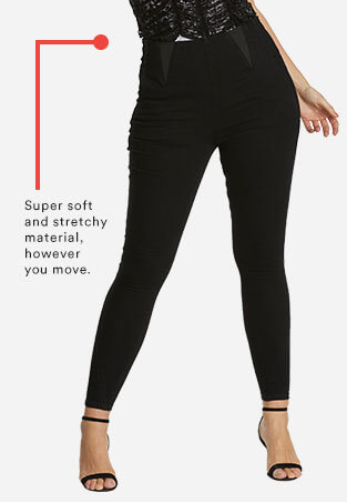 Curve Control High Waist Jeggings