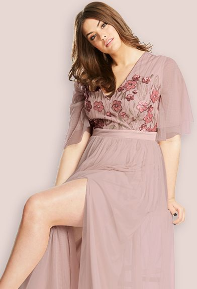 Dusky Rose Dress
