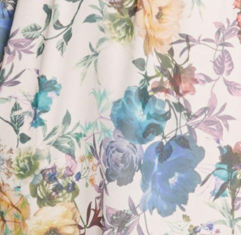 Floral Dress Print Detail
