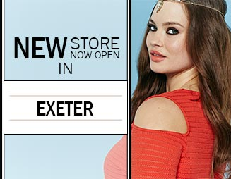 Exeter: Now Open