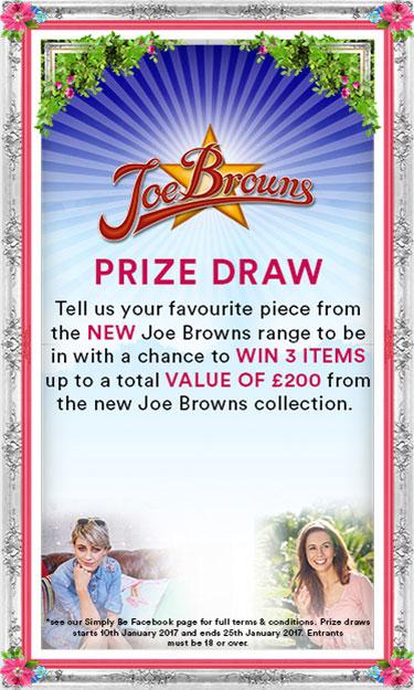 Jow Browns Prize Draw