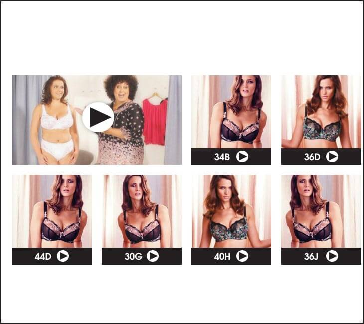 Ultimate Bra Fitting Videos