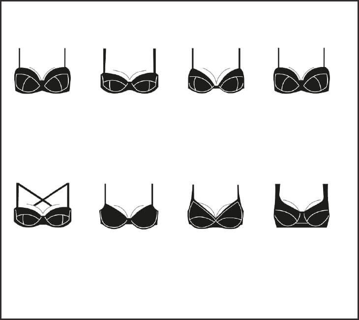Bra Shape Guide