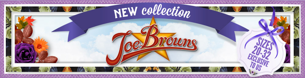 New Collection - Joe Browns - Sizes 20-32 exclusive to us
