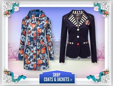 Shop Coats & Jackets