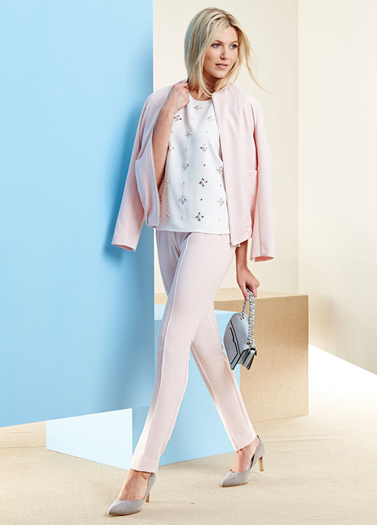 Candy Girl jacket and trousers
