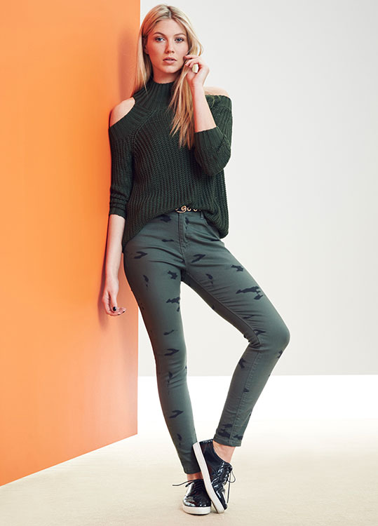 Pretty Utility top and trousers