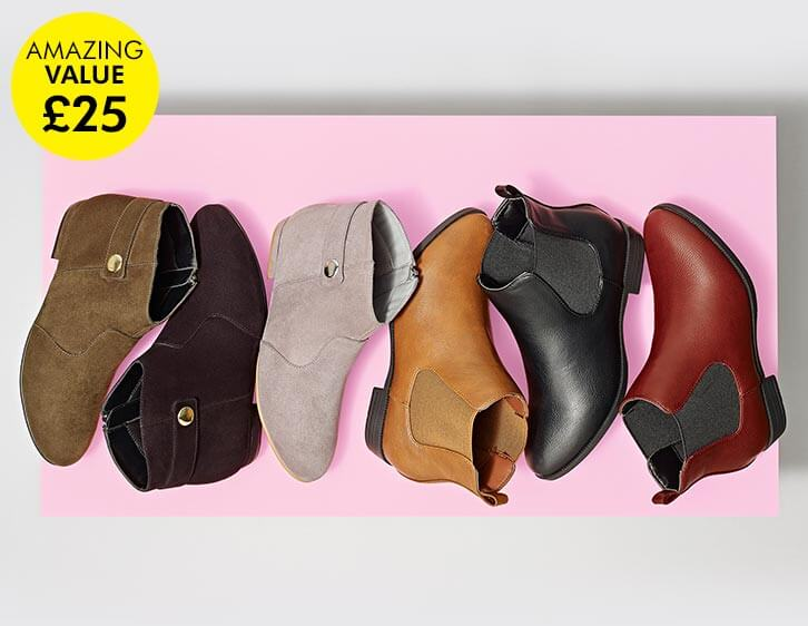 Shop amazing value footwear