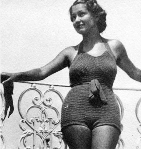 1930s Swimwear