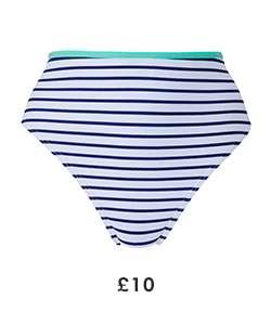 Bikini Bottoms - Island Stripe £10