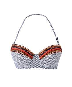 Aztec Print Bikini Top