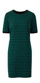 Green Stripe Dress