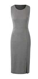 Smart Grey Dress