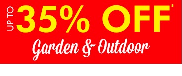 up to 35% OFF Garden & Outdoor fun