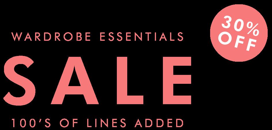 30% Off Wardrobe Sale
