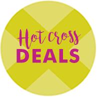 Hot cross deals
