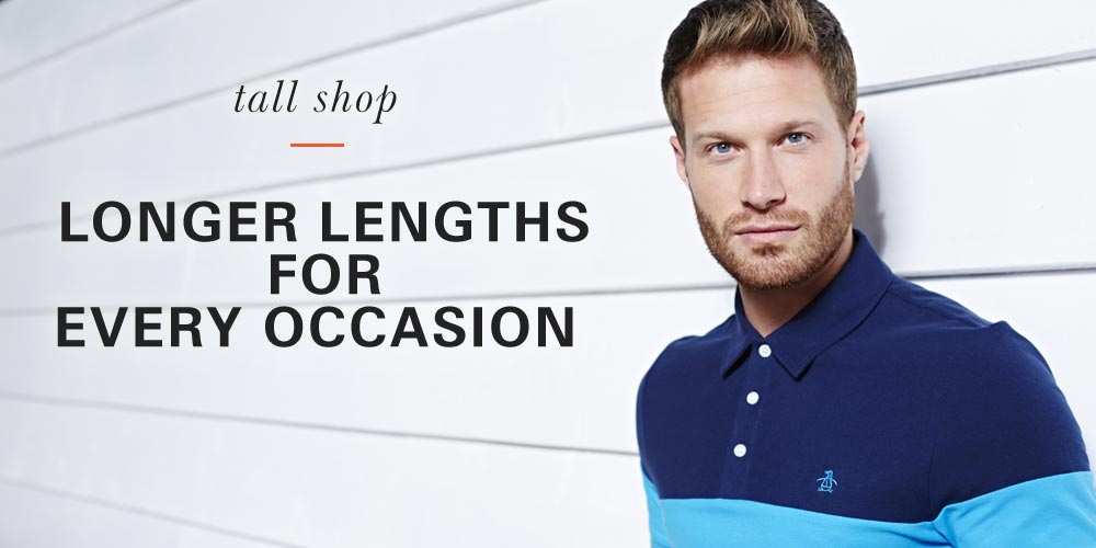 Tall Shop – Longer lengths