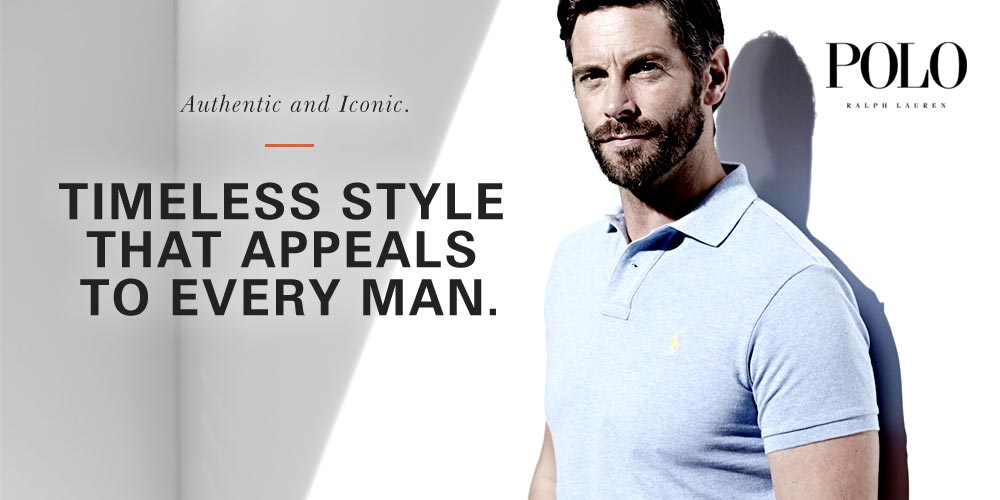 Authentic and Iconic - Timeless style that appeals to every man