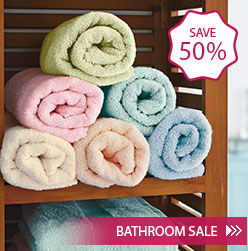 Bathroom Sale - Save 50% - Shop Now