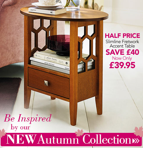 Be Inspired by our NEW Autumn Collection