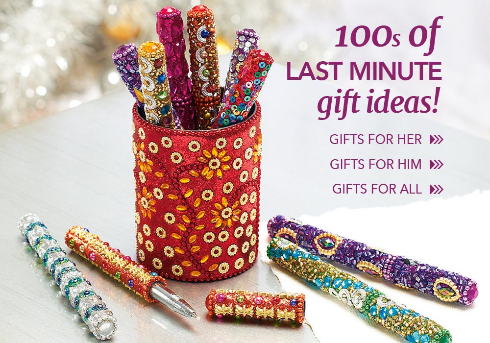 100s of last minute gift ideas!