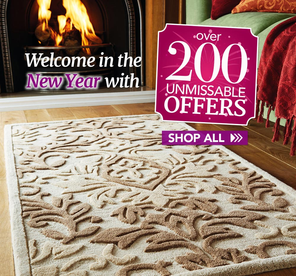 Welcome in the New Year with over 200 unmissable offers