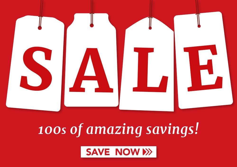 Sale - 1000s of amazing savings