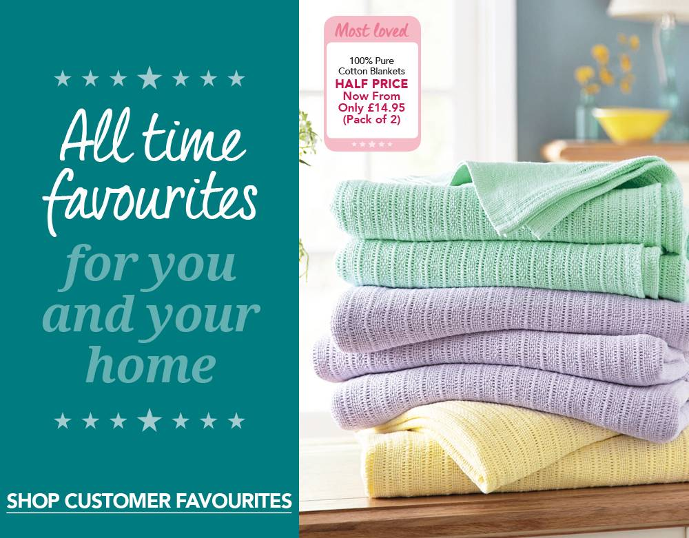 All Time Favourites - Shop Customer Now