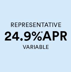 24.9% APR