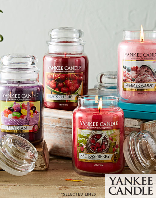 Up to 30%* off Yankee Candle