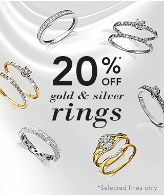 20% off Rings