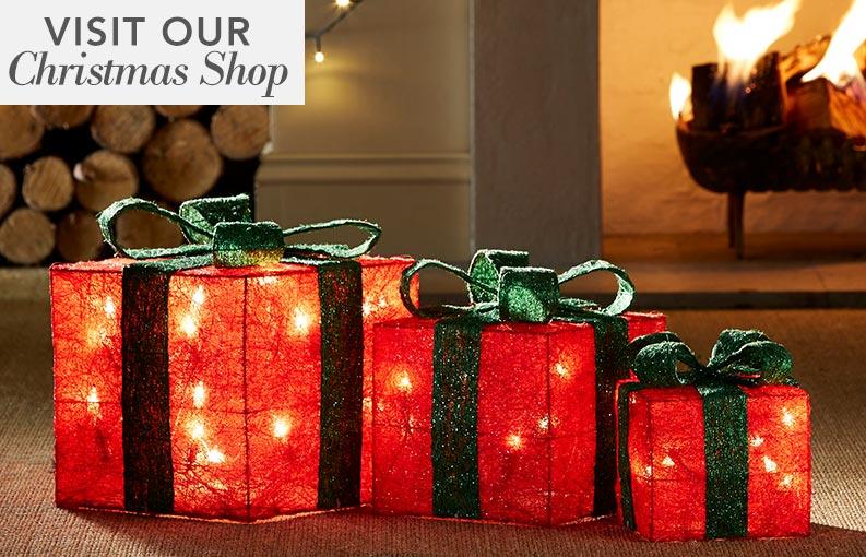 Visit Our Christams Shop