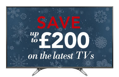 Save up to £200 on the latest TVs