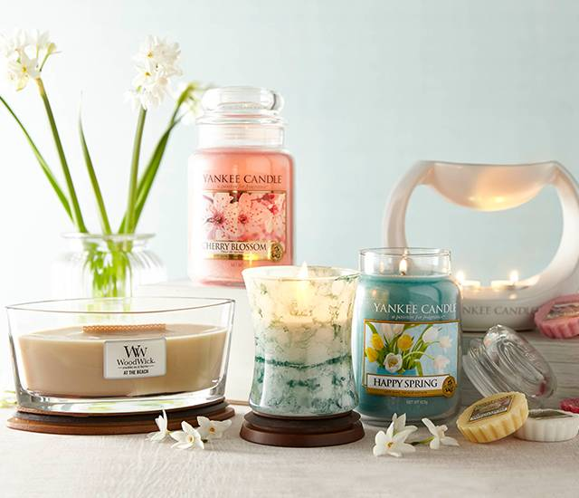 Brand New Candles for Spring