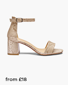 Sole Diva Harley Block Heel Sandals E Fit