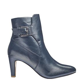 Teal heel and buckle ankle boot £50.00