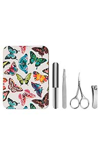 Heathcote & Ivory Butterfly Design Manicure Tin Gift Set